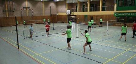 Trainingszeiten Badminton