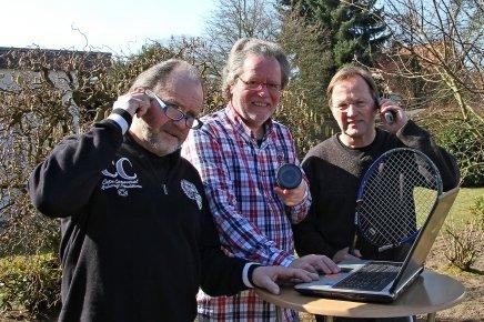 von links nach rechts: Heiko Vietz, Norbert Quint, Ulrich Peterschmidt (es fehlen Eugen Wellmann und Reinhold Sprehe)